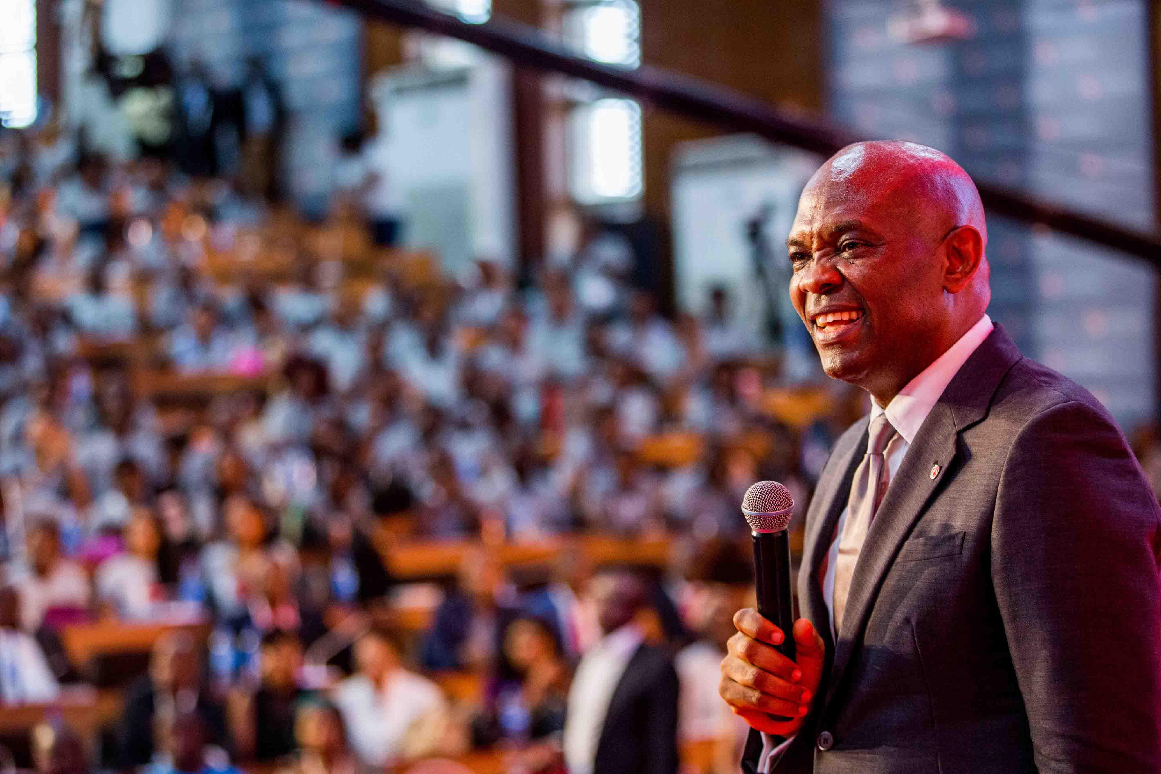 Tony Elumelu Speaking