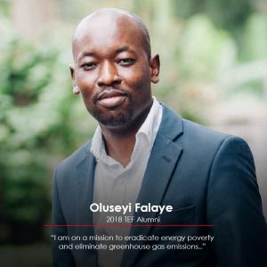 Oluseyi Falaye Tony Elumelu Entrepreneur