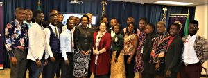 TEF CEO and Alumni at the US Consulate