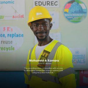 Tony Elumelu Entrepreneur, Mohammed Kamar
