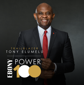 Tony Elumelu Listed on 2020 EBONY POWER 100