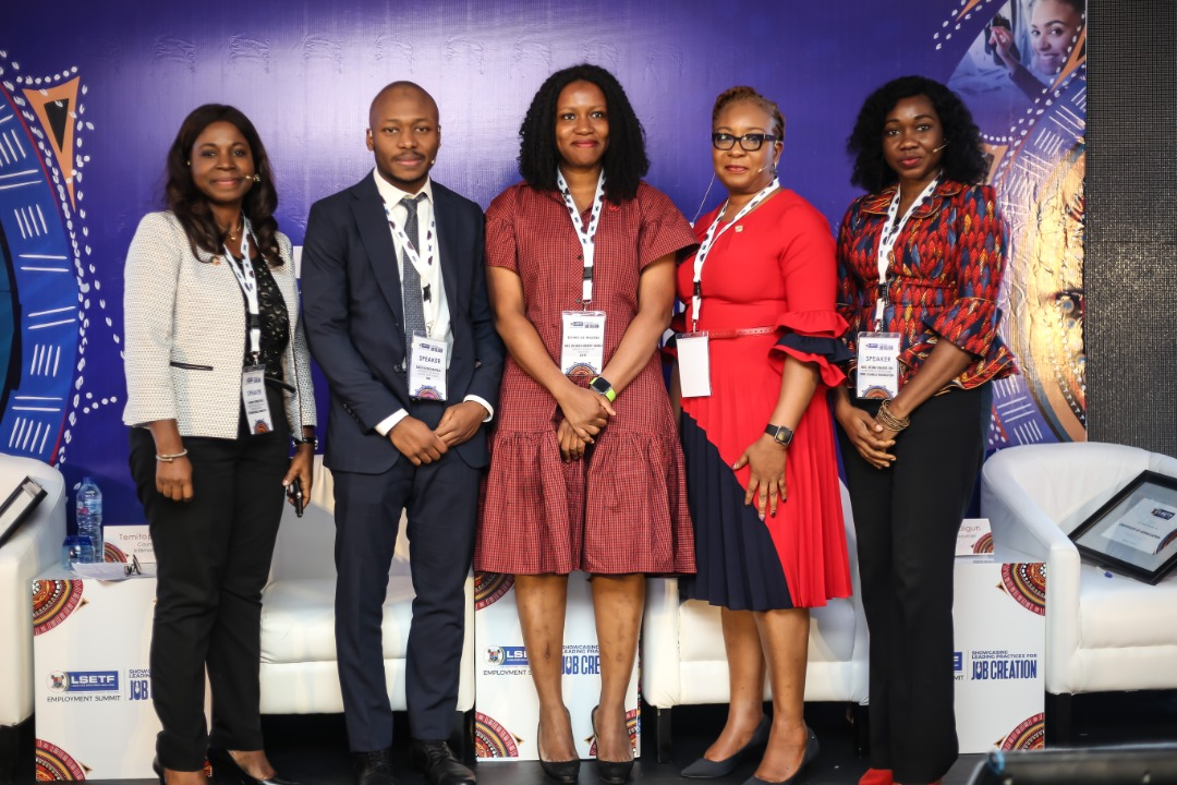 TEF Director of Operations, Ifeoma Okafor-Obi at LSETF Summit