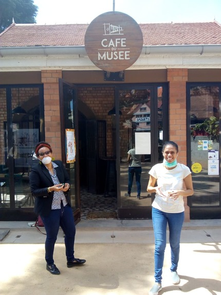 Marie Christina Kolo partnerships with restaurants in Madagascar