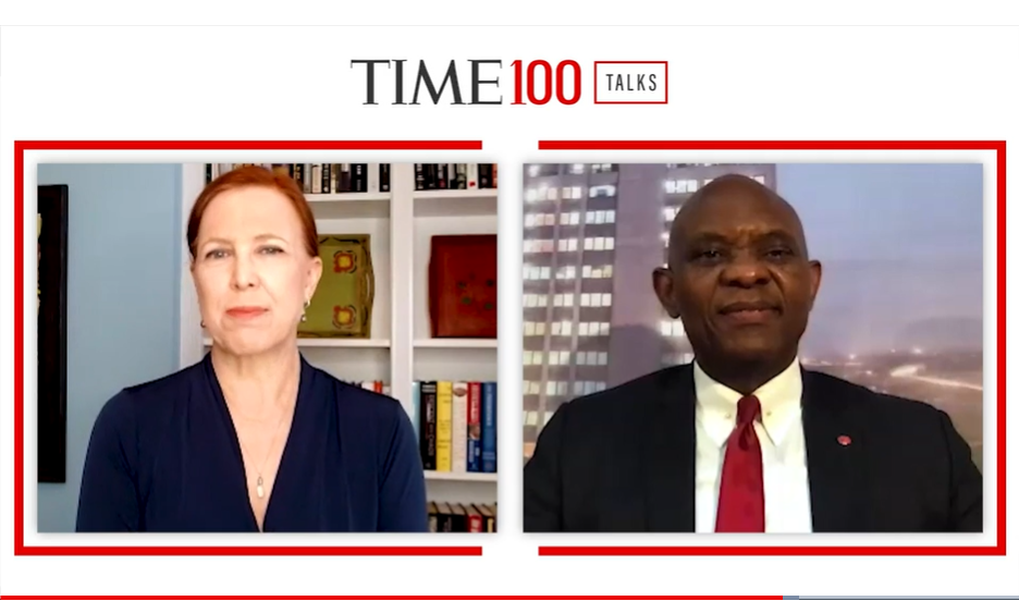 "Africa is a Land of Opportunities"" – Tony Elumelu Says at TIME100Talks"