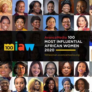 Avance Media 100 most influential African Women 2020