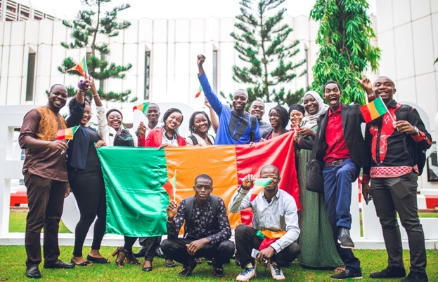 A cross-section of young African entrepreneurs at the 2019 TEF Entrepreneurship Forum