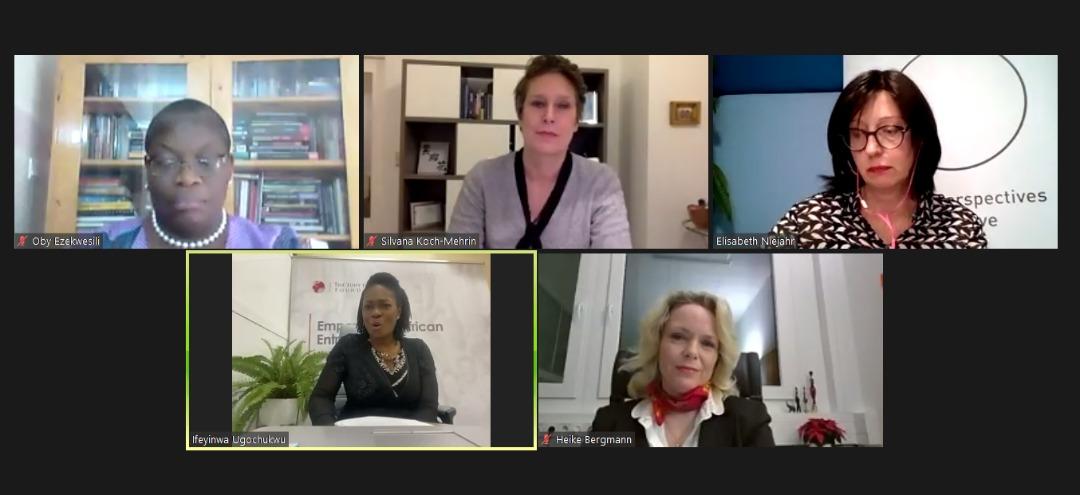 Ifeyinwa Ugochukwu Discusses Women Empowerment at the Global Perspectives Salon