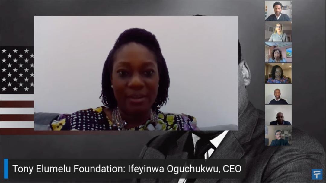 Ifeyinwa Ugochukwu Speaks on a Virtual Panel celebrating U.S.' Black History Month