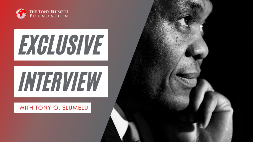 #TEFLiveSeries with Tony O. Elumelu