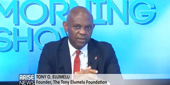 """""""Everything We Do is About Impacting Lives and Transforming our Society,"""" Tony Elumelu Says on AriseTV's """"The Morning Show"""""""