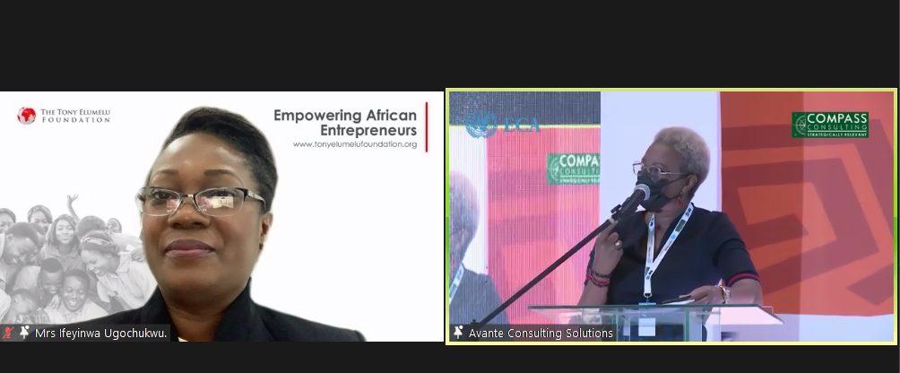 Ifeyinwa Ugochukwu at West African Business Forum