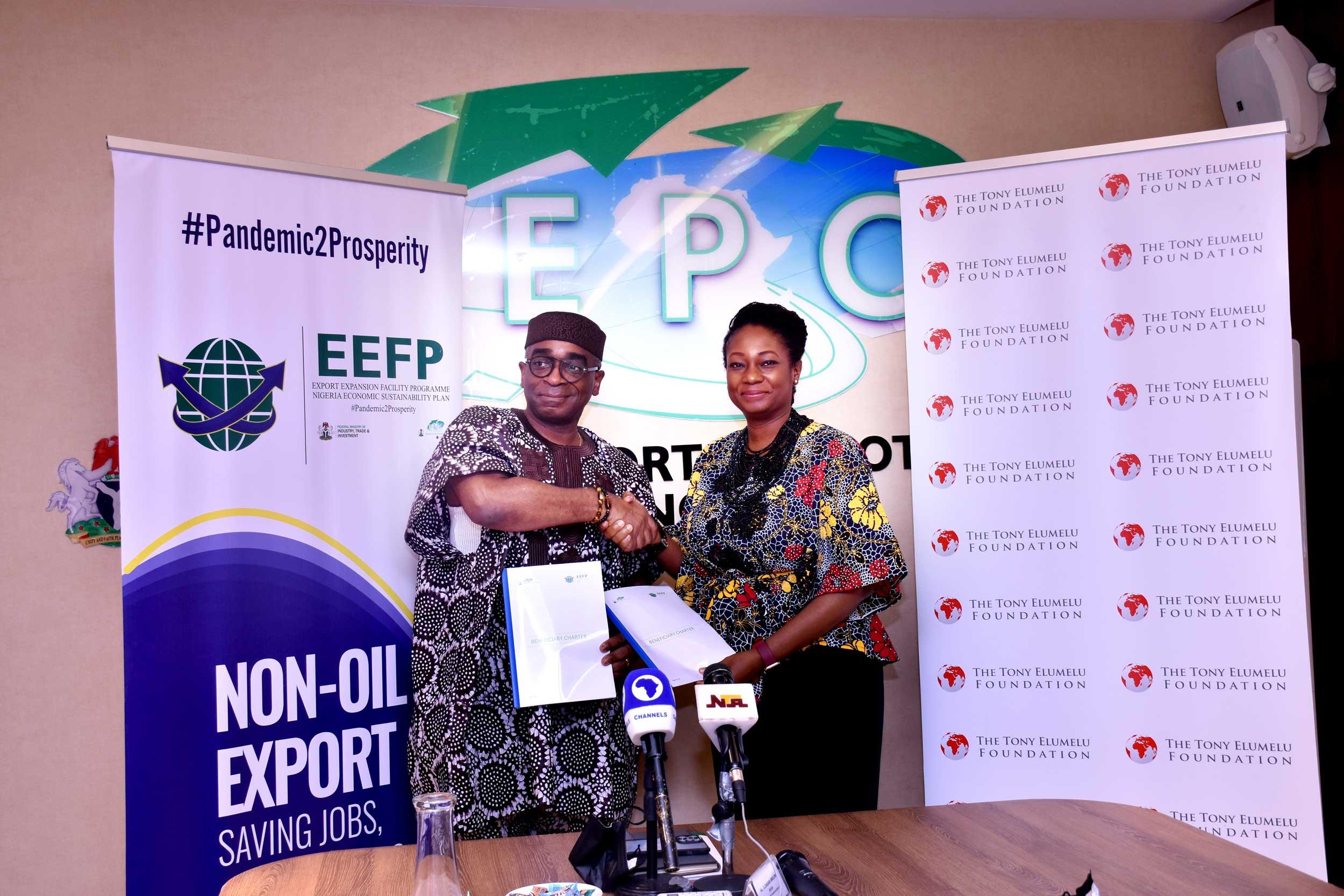Ifeyinwa Ugochukwu at NEPC-Partnership-Signing