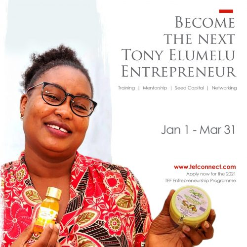 TEF Application Drive 2021 — Eunice Mensah